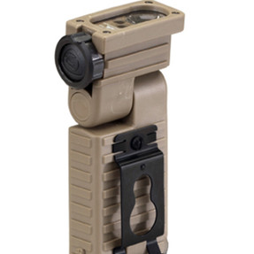 Streamlight 14008 Sidewinder Aviation Model - White Green Blue IR LEDs.  Includes 2 AA alkaline batteries - Clam - Coyote Brown