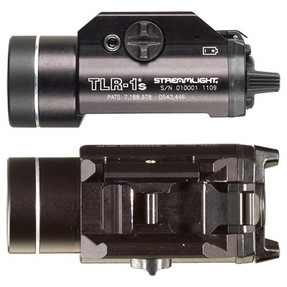 Streamlight 69210 TLR-1s - Includes Rail Locating Keys and lithium batteries. Box - Black