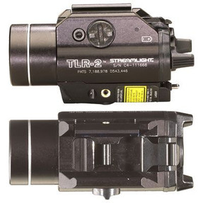 Streamlight 69120 TLR-2 - Includes Rail Locating Keys and lithium batteries. Box - Black