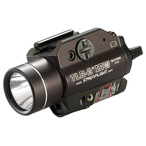 Streamlight 69165 TLR-2  IRW - visible white LED and Class I eye safe IR Laser - Includes Rail Locating Keys and lithium batteries. Box - Black