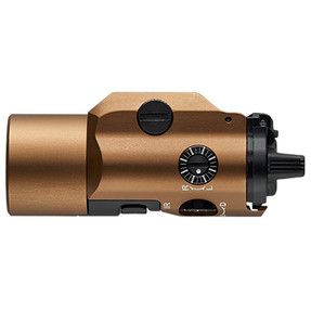 Streamlight 69191 TLR-VIR II visible LED/IR illuminator/IR laser includes rail locating keys and CR123A lithium battery - Box - Coyote Brown