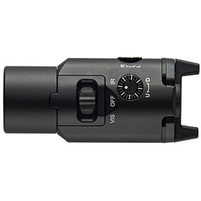 Streamlight 69192 TLR-VIR II visible LED/IR illuminator/IR laser includes rail locating keys and CR123A lithium battery - Box - Black