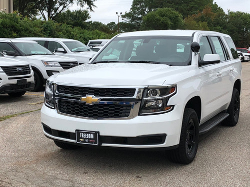 New 2019 Chevy Tahoe PPV Law Enforcement Package V8 2WD ready to be built as a Slick-Top Admin Package, choose any color LED Lights, + Delivery