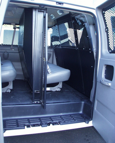 Havis Van Cage Front Partition P-FRONT-1, for Ford E-Series Chevy G-Series  and GMC Express