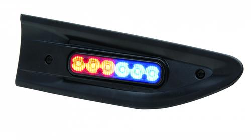 Whelen Police Interceptor Sedan Taurus and Caprice Dual SideKick Side Flush  Mount LED ION Light Head