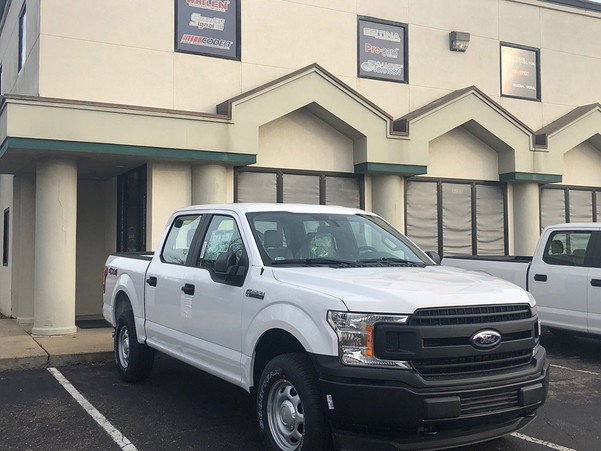 New 2020 Ford F-150 White 4x4 SSV V6 Special Service Truck, ready to be built as an Admin Package, choose any color LED Lights, + Delivery