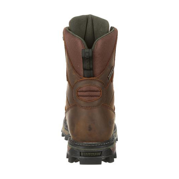 Rocky BearClaw FX RKS0392 Men's 8 Inch 400G Insulated Waterproof Outdoor Casual Boots, available in Regular or Wide Width, Brown