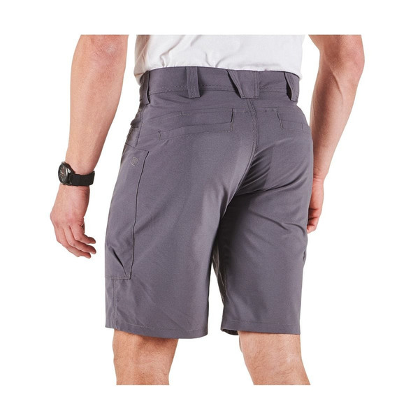 5.11 Tactical 73346 Men's Stealth 10.5 inch Short, 100% Polyester, 9 Pockets, Low profile cargo pockets, Uniform/Casual, available in Ranger Green, Peacoat, Black, Stone, and Flint