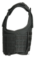 Armor Express ® OCX Men's Overt Ballistic Body Armor Carrier, Front hard armor plate pockets, adjustable shoulder straps and a drag handle on rear of vest, Choose Carrier only or Carrier and Plates, NIJ Certified - Level 2, or Level 3A Threat Level