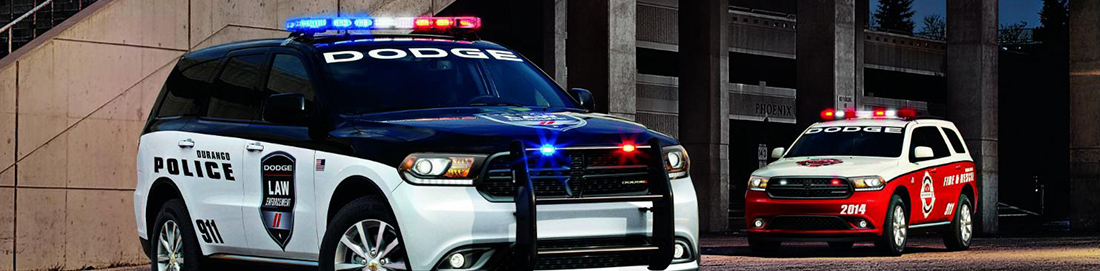 Dodge Durango Police LED Lights, Sirens, and Emergency Equipment