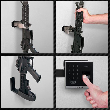 Tufloc X Lock Locking Gun Rack For Homes Or Residential