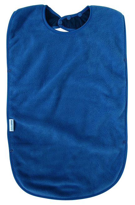 • Easy snap on and adjustable neck • Absorbent anti-pill fleece • Stain and water resistant nylon backing • Machine washable and tumble dry safe