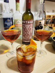 Vermouth di Torino, but Make it Local - Method Spirits Sweet Vermouth