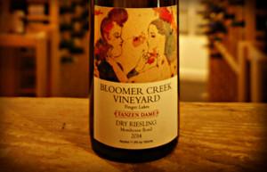 Bloomer Creek Vineyard, Tanzen Dame Dry Riesling Morehouse Road