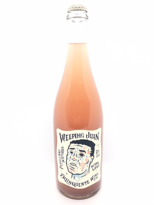 Delinquente Wine Co., Weeping Juan Pétillant Naturel Rosé Riverland