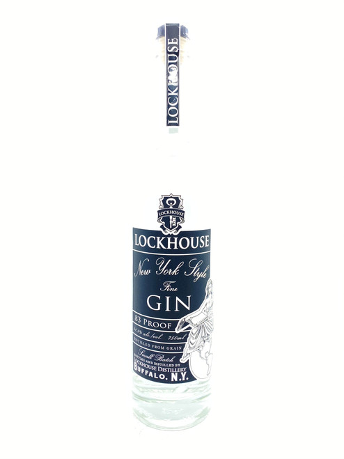 Lockhouse Distillery, New York Style Fine Gin 83 Proof
