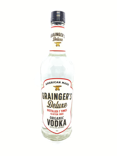 Grainger's, Deluxe Organic Vodka