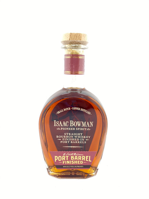 A. Smith Bowman Distillery, Isaac Bowman Port Barrel Finished Straight Bourbon Whiskey
