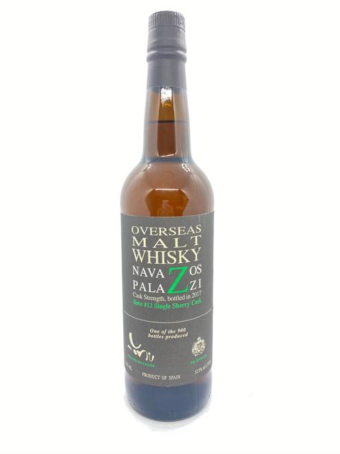 Navazos-Palazzi, Overseas Bota #12 Single Sherry Cask Strength Malt Whisky