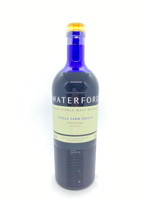 Waterford Distillery, Rathclogh Single Farm Origin Irish Single Malt Whisky Edition 1.1