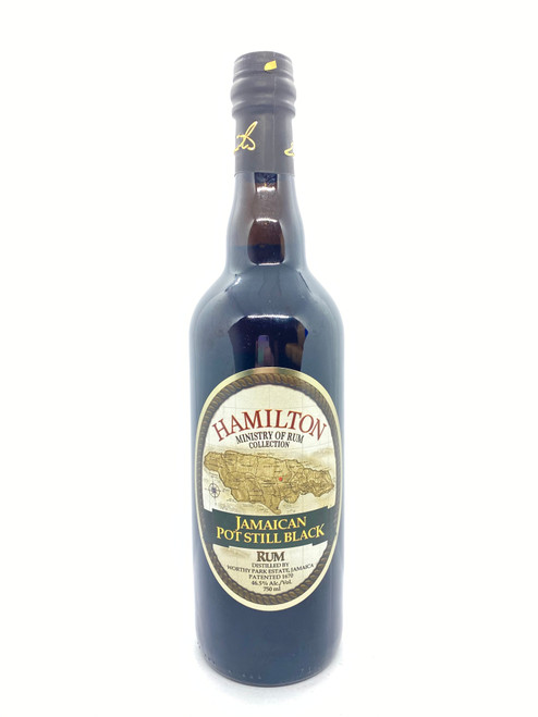 Hamilton Ministry of Rum, Ministry of Rum Collection Jamaican Pot Still Black Rum 93 Proof