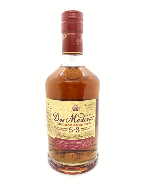 Dos Maderas, 5+3 Year Old Cask & Barrel Rum
