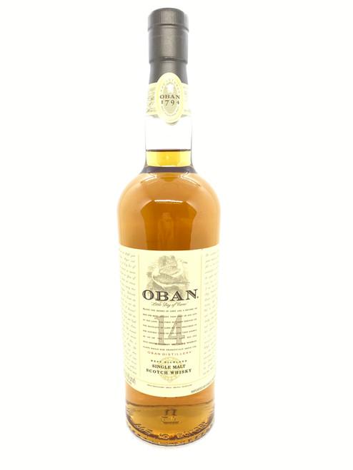 Oban, 14 Years Old West Highland Single Malt Scotch Whisky