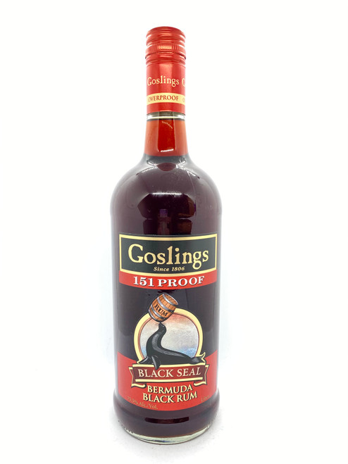 Gosling's, Black Seal Black Rum 151 Proof