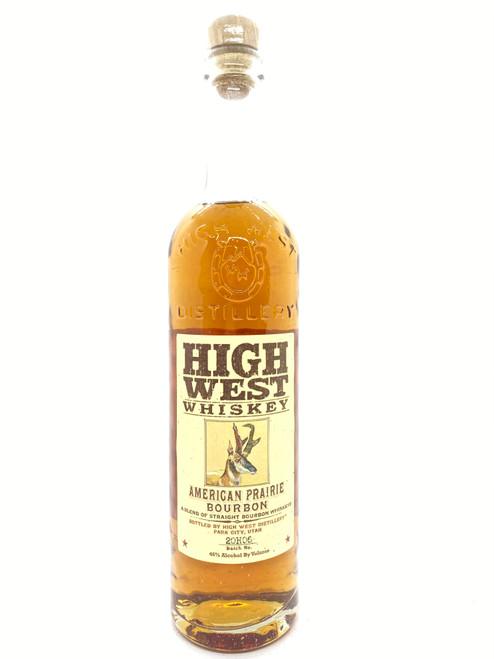 High West Distillery, American Prairie Blended Straight Bourbon Whiskey (NV)