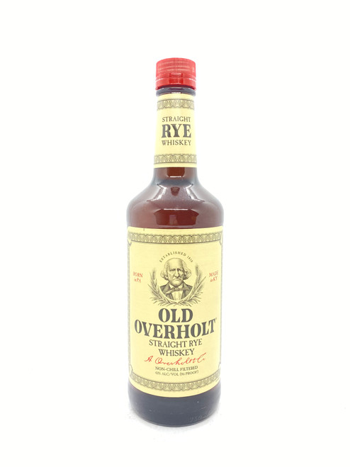 Old Overholt, Straight Rye Whiskey 86 Proof