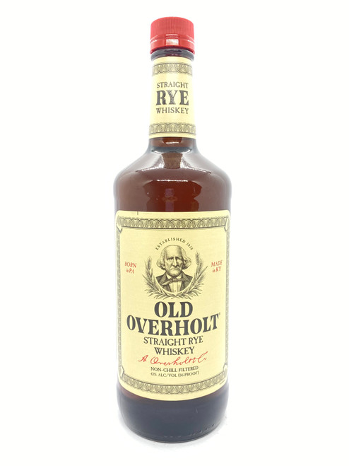 Old Overholt, Straight Rye Whiskey 86 Proof (1L)