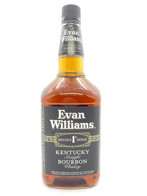 Evan Williams, Kentucky Straight Bourbon Whiskey (1.75)