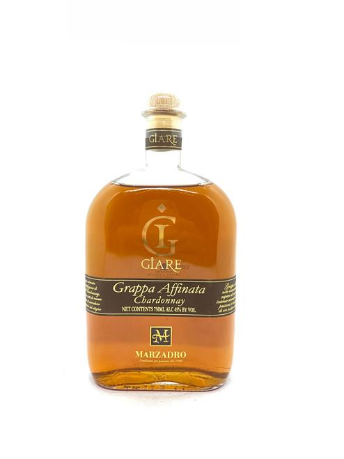 Distilleria Marzadro, Grappa Affinata in Barrique Le Giare Chardonnay (NV)