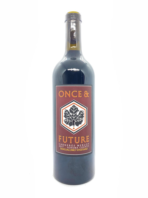 Once & Future Wine, Sangiacomo Vineyard Merlot Carneros