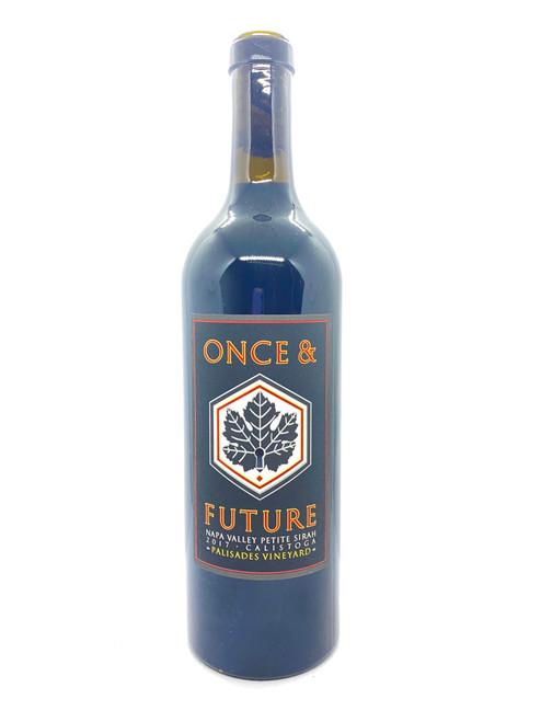 Once & Future Wine, Calistoga Petite Sirah Palisades Vineyard