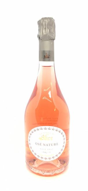 Le Vigne di Alice, Vino Spumante Brut Osé Nature Rosé