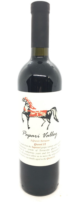 Papari Valley, 3 Terraces Saperavi 11th Kvevri Semi Dry Red Wine
