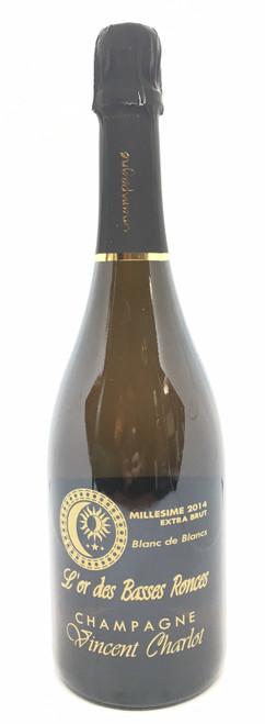 Champagne Vincent Charlot, Champagne Extra Brut L'Or Des Basses Ronces Blanc de Blancs