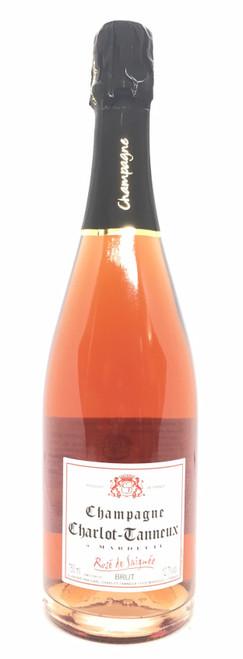 Champagne Charlot-Tanneux Rosé de Saignée Brut