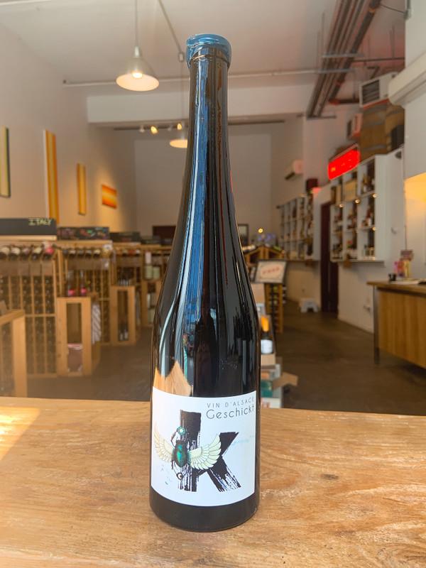 Geschickt, Vin d'Alsace Pinot Noir K