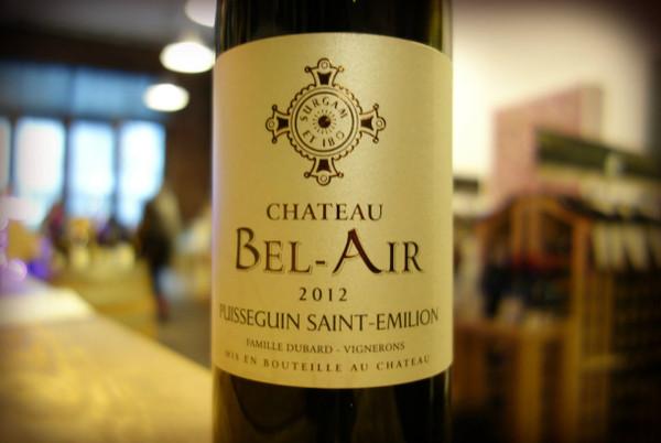 Chateau Bel Air, Pusseguin Saint -Emilion (2012)