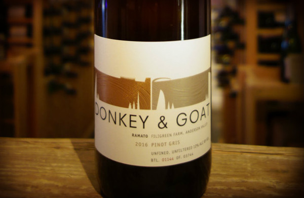 Donkey & Goat 2015 Ramato Filigreen Farm Pinot Gris