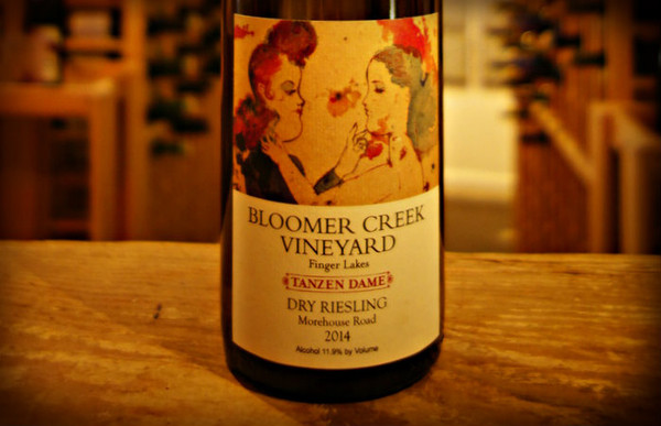 Bloomer Creek Vineyard, Tanzen Dame Dry Riesling Morehouse Road