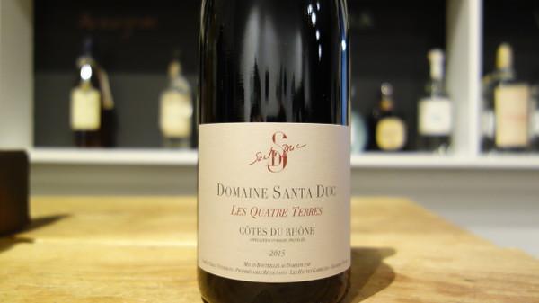 Domaine Santa Duc, Côtes du Rhône Les Quatre Terres Rouge