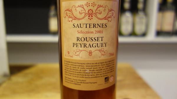 Domaine Rousset-Peyraguey, Sauternes Selection Vin de Voile