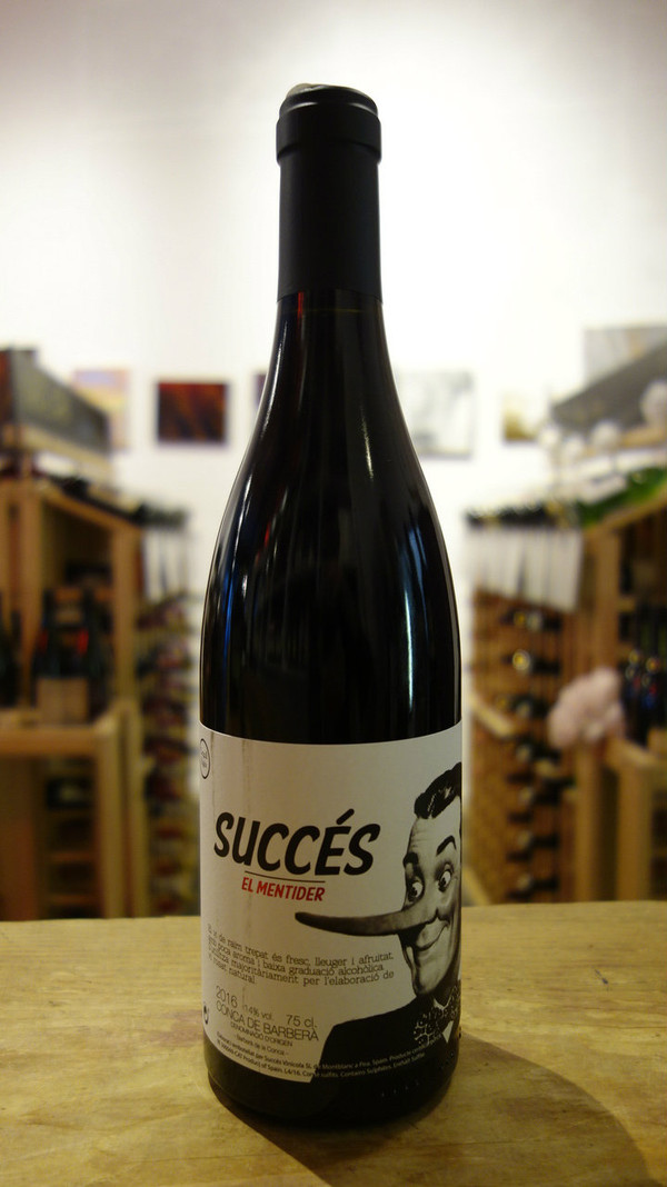 Succes Vinicola, Conca de Barberà Trepat El Mentider Old Vine