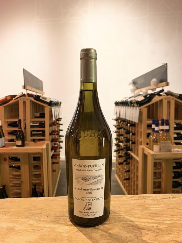 Domaine de la Pinte, Arbois-Pupillin Chardonnay Fonteneille