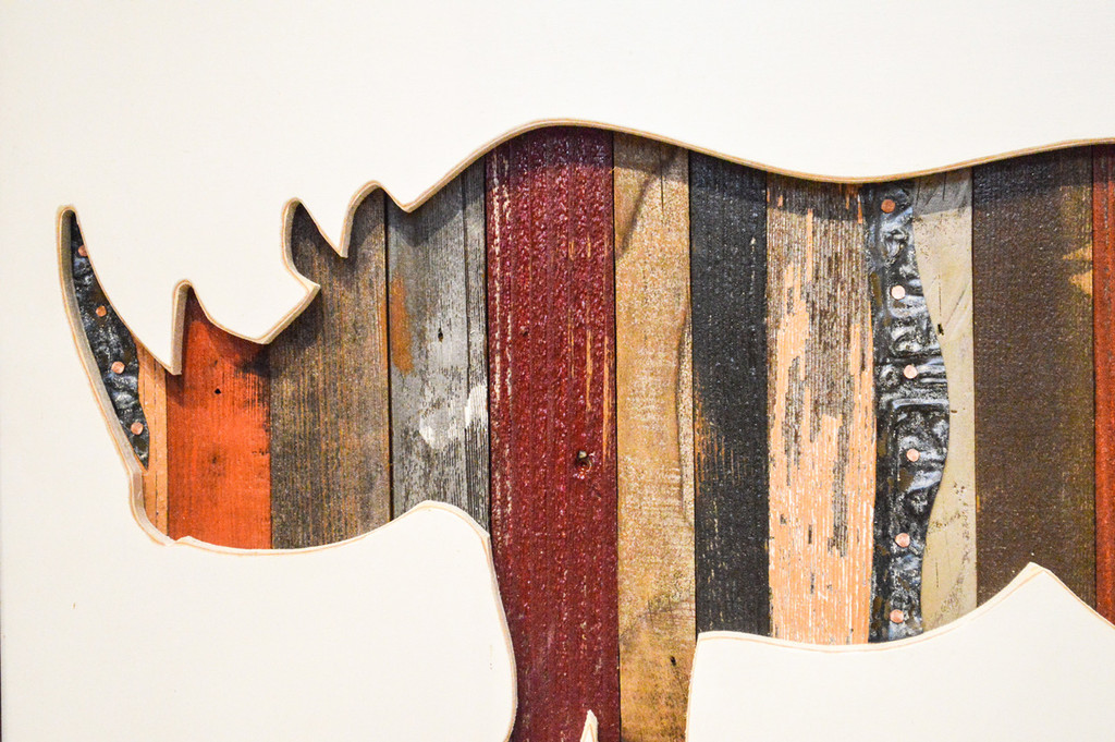 Rhino Wood Cutout