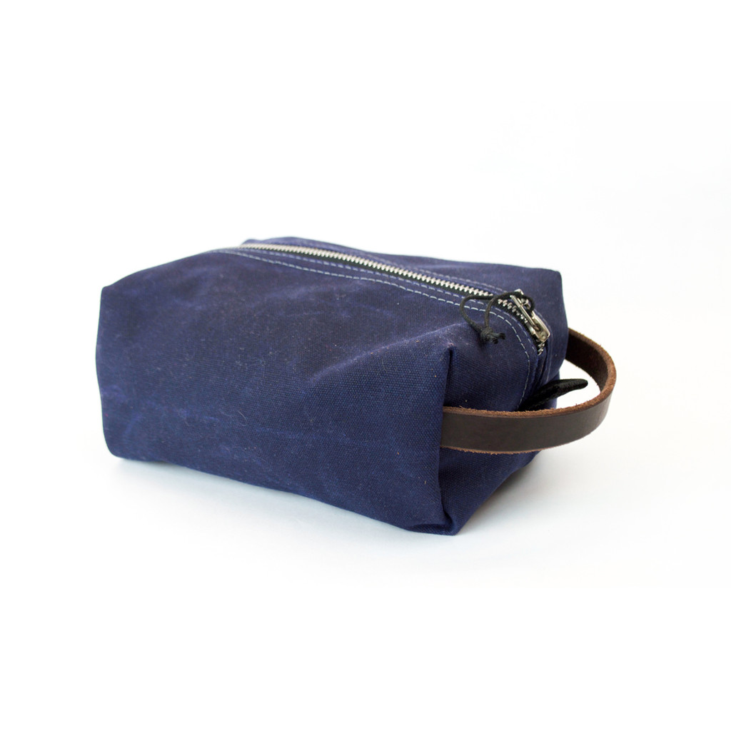 Wheeler Waxed Dopp Kit