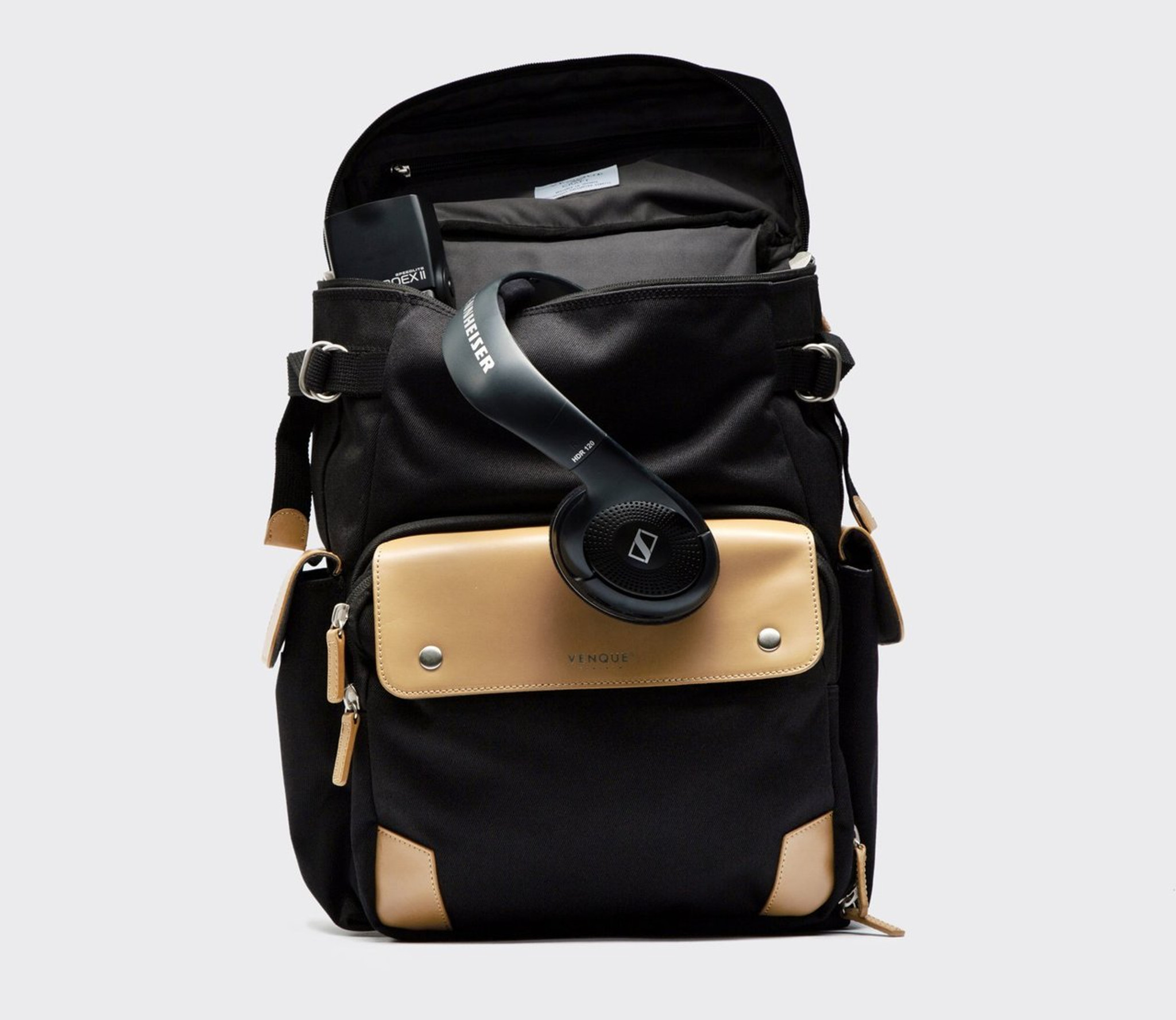 Venque Campro Black Backpack